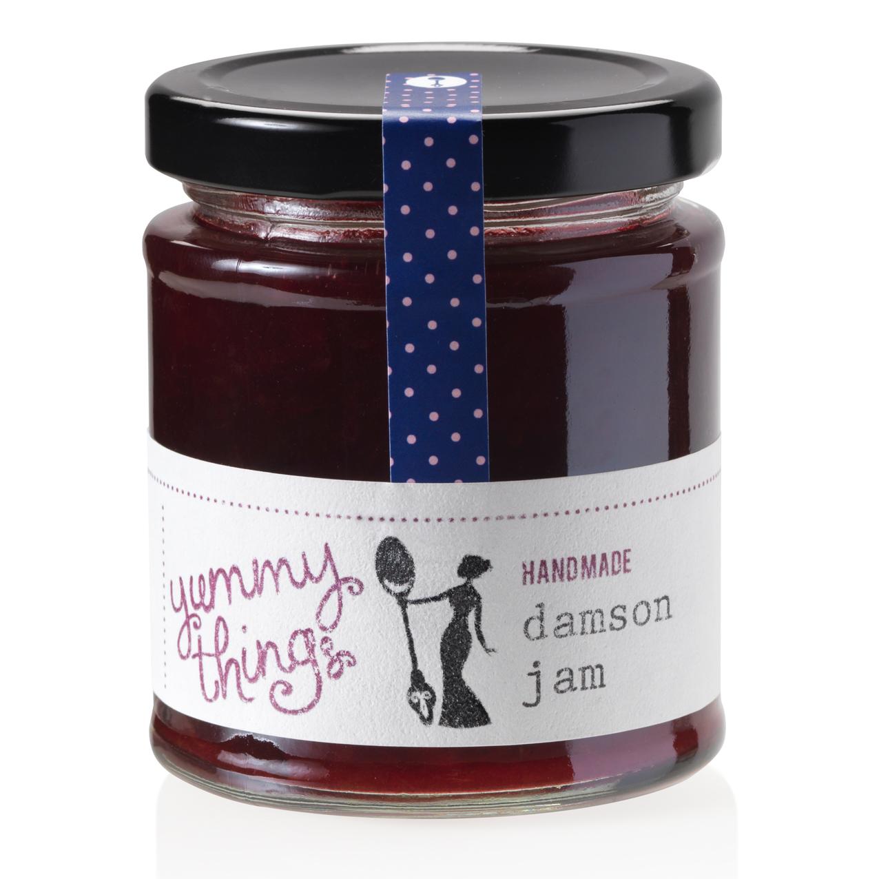 Yummy Things' delicious, seasonal handmade damson jam - Handmade in Gosforth, Newcastle upon Tyne - The perfect foodie gift!