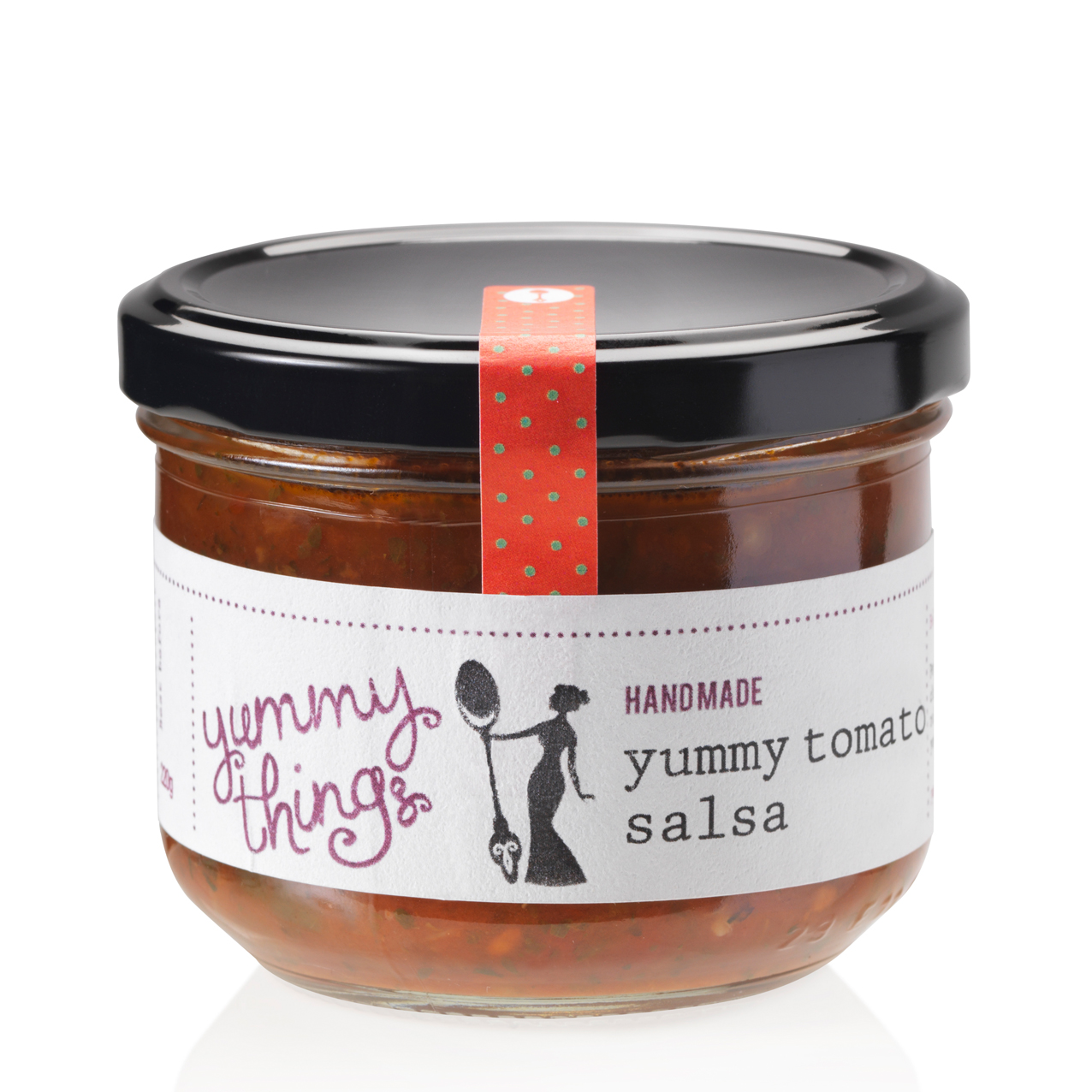Yummy Things' delicious, seasonal handmade yummy tomato salsa - Handmade in Gosforth, Newcastle upon Tyne - The perfect foodie gift!