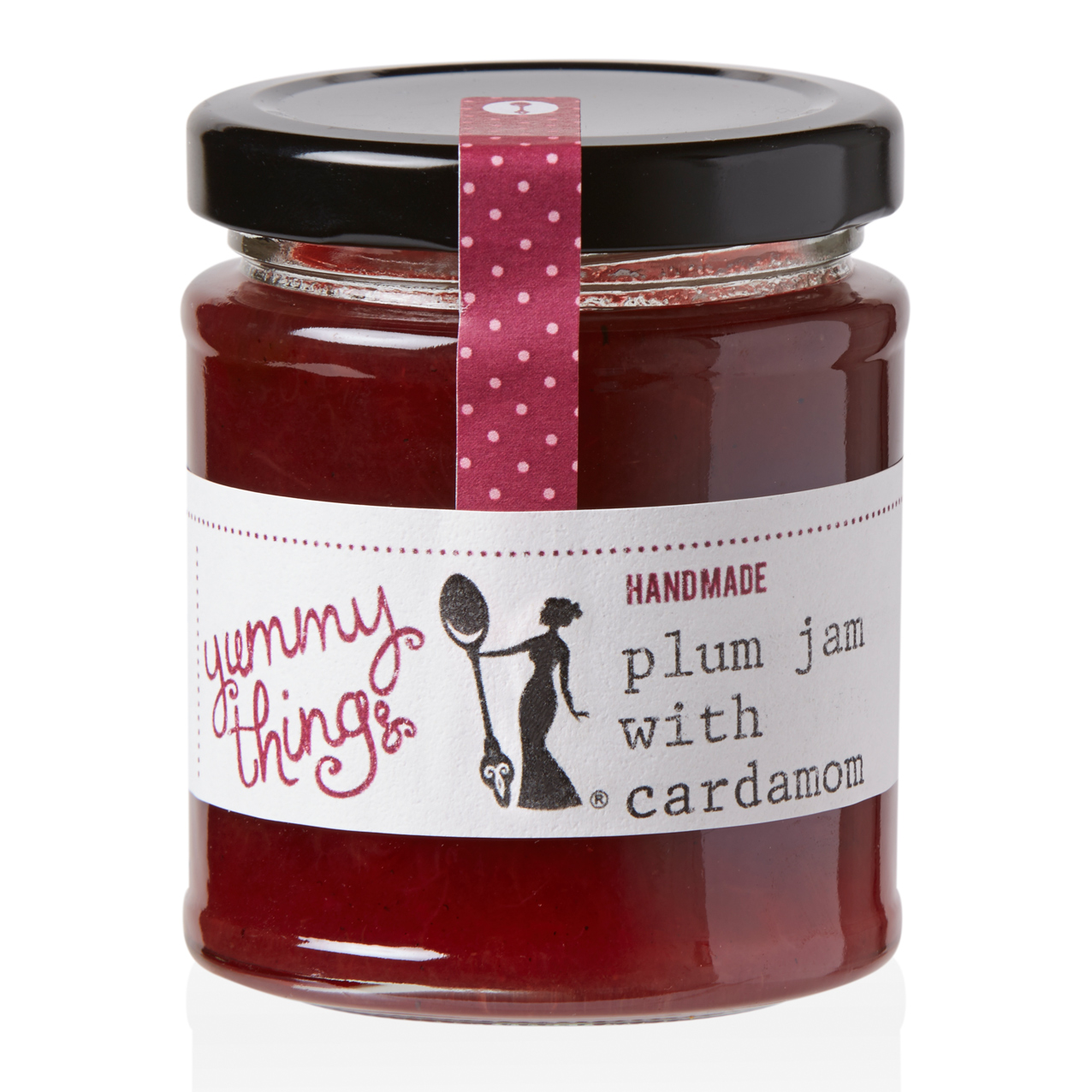 Yummy Things' delicious, seasonal handmade plum jam with cardamom - Handmade in Gosforth, Newcastle upon Tyne - The perfect foodie gift!