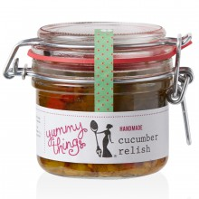 Yummy Things' delicious, seasonal handmade Cucumber Relish - Handmade in Gosforth, Newcastle upon Tyne - The perfect foodie gift!